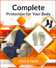 Complete protection for the body side block Raynaud's disease