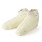 Cosy Wooly Merino Sheep Wool Footwarmer Slippers