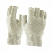 Raynaud's Disease Fingerless Silver Gloves