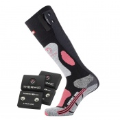 Therm-IC Powersock Comfort Heat Socks Set for Women with S-Pack 1200 Battery