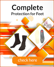Complete protection for feet Raynaud's Bundle