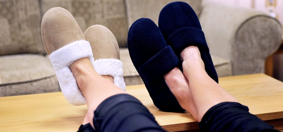 SnugToes Heated Slippers for Instant Warmth Around the Home