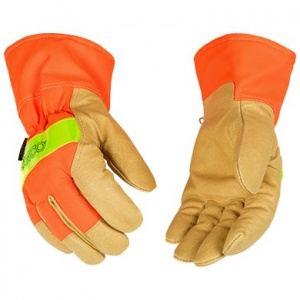 Kinco Lined Pigskin Thermal Gloves with Cuff
