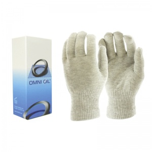 Omni Ol Hand Warming Balm and Raynaud's Disease Silver Gloves Bundle