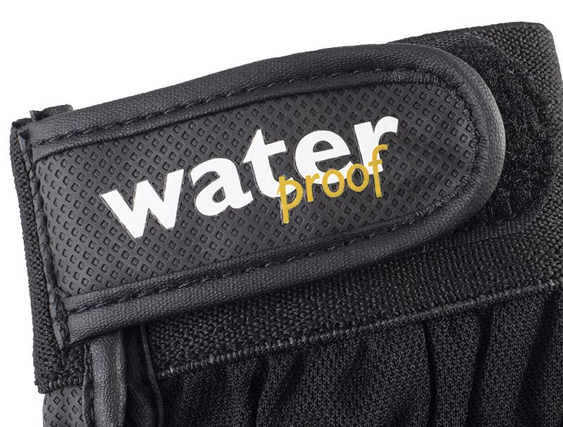 Waterproof Materials and a Velcro Cuff Keep the Elements Out