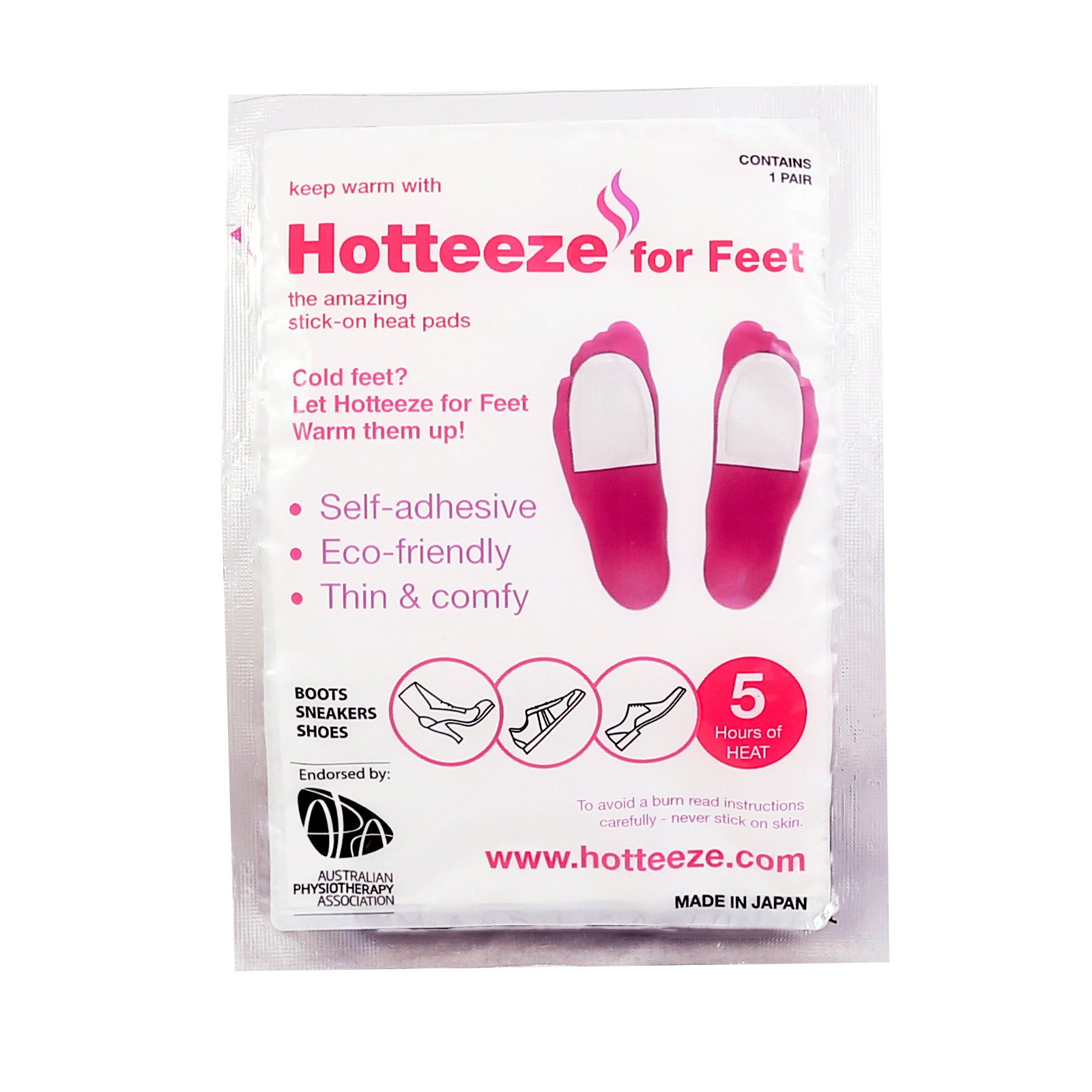 Hotteeze for Feet Winter Bundle