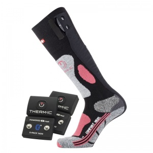 Therm-IC Powersock Comfort Heat Socks Set for Women with S-Pack 1400B Bluetooth Battery