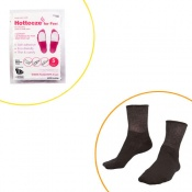Hotteeze for Feet Deluxe Winter Bundle