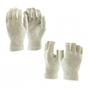Raynaud's Disease Silver Gloves & Fingerless Silver Gloves Bundle