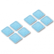 Self-Adhesive Gel Pads for the Beurer EM59 TENS/EMS Device (Pack of 8)