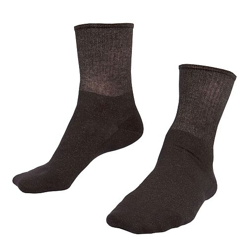 Raynaud's disease deluxe silver socks